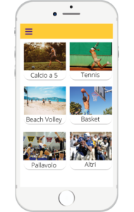 Made4Sport: Screen App